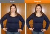 Perder o bajar peso en la fotografía