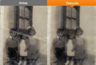 Restauración y reparación digital de fotos