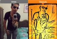 Hacer efecto graffiti stencil a mis fotos