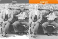 Restauración de fotografías antiguas